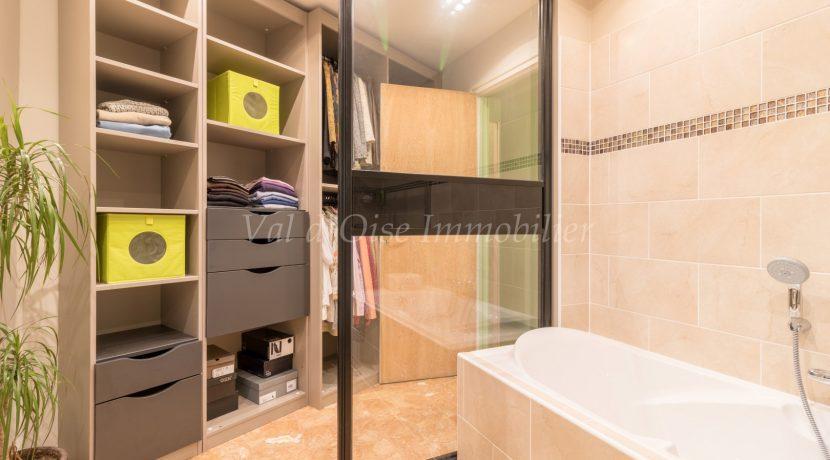 dressing et salle de bains